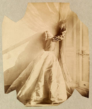 Clementina Maude, photograph by Lady Clementina Hawarden, about 1862 –63, England. Museum no. 457:344-1968. © Victoria and Albert Museum, London
