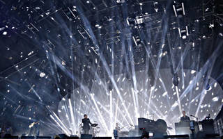Radiohead at Glastonbury Festival, 2017. © Jason Bryant