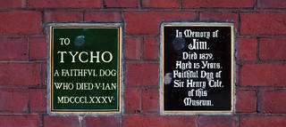 Memorials to Tycho and Jim. © Victoria and Albert Museum, London