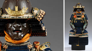 Suit of armour in Haramaki style, about 1850, Japan. Museum no. M.95:1 to 14-1955. © Victoria and Albert Museum, London