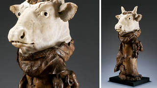 Head of an ox, statue, 1650 – 1700, Padua, Italy. Museum no. 60-1882. © Victoria and Albert Museum, London