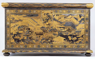 The Mazarin Chest, about 1640, Japan. Museum no. 412:1, 2-1882. © Victoria and Albert Museum, London