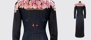 Evening coat, designed by Elsa Schiaparelli and Jean Cocteau, 1937, London, England. Museum no. T.59-2005. © Victoria and Albert Museum, London
