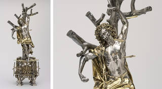 Reliquary of Saint Sebastian, 1497, Germany. Museum no. M.27-2001. © Victoria and Albert Museum, London