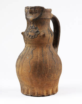 Anthropomorphic jug, about 1280 – 1320, England. Museum no. C.50-1929. © Victoria and Albert Museum, London