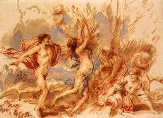 Drawing, Apollo e Daphne