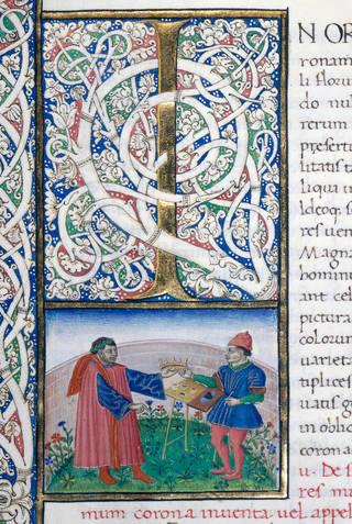 Illuminated manuscript, Miniatore dei Piccolomini,
