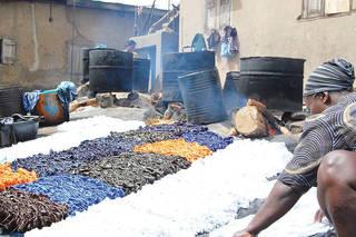 Cotton dyeing