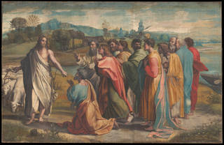 Raphael Cartoon, Christ's Charge to Peter