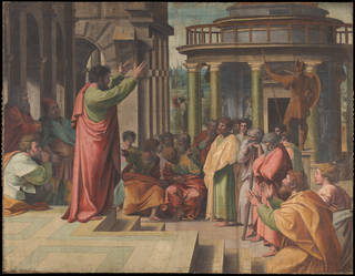 Raphael Cartoon, Paul Preaching at Athens