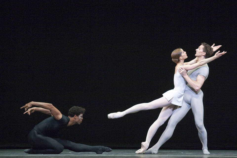 Dame Darcey Bussell DBE, Carlos Acosta and Gary Avis in The Song of the Earth,