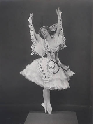 Adeline Genée in 'A Dream of Roses and Butterflies'. Photo by Hugh Cecil.