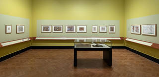 Renaissance Watercolours display