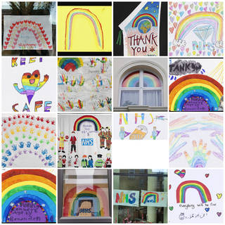 All Will Be Well: Children's Rainbows from Lockdown photo