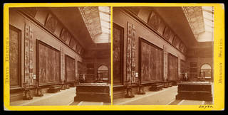 Stereoscopic albumen prints of South Kensington Museum