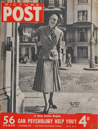 Cover from Picture Post magazine
