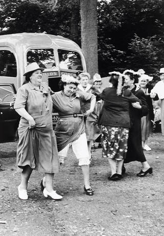 Women enjoying a day off in Margate