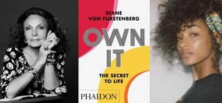 Own It: Diane von Furstenberg and Jourdan Dunn photo