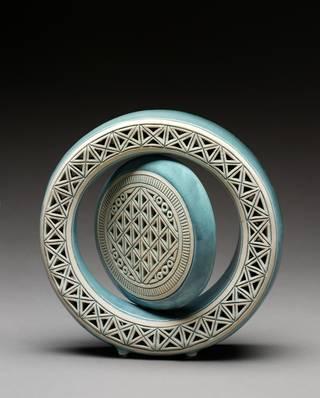 'Double Circle', by Ibrahim Said