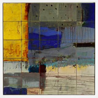Tile panel, by Diaa El-Din Daoud