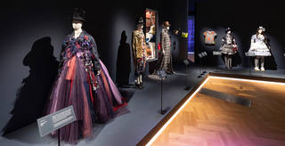 Fashion on display in the exhibition