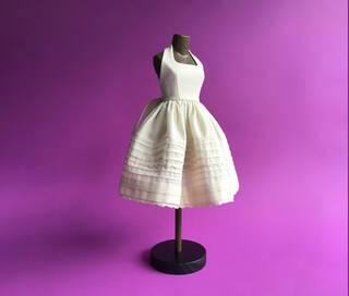Couture Hand Sewing: Make a Dress in Quarter Scale (Saturday AM) photo