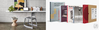 Vitra Tip Ton EA chair and Thames & Hudson books