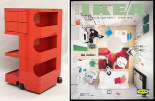 'Boby', trolley and IKEA catalogue