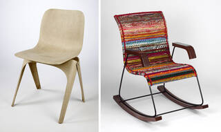 Flax Chair and Rocking chair