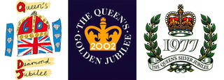 Examples of previous Jubilee Emblems