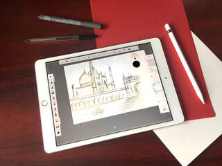 Online workshop: Architectural Drawing (13-17 years) photo