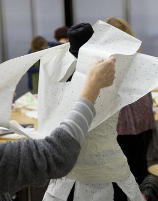 V&A Virtual Classroom - Secondary: Zero Waste Pattern Cutting (Autumn 21)  photo