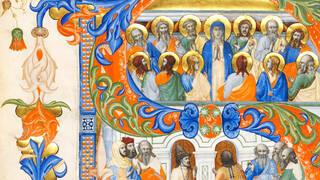 Fragmented Illuminations: Medieval and Renaissance Manuscript Cuttings at the V&A photo