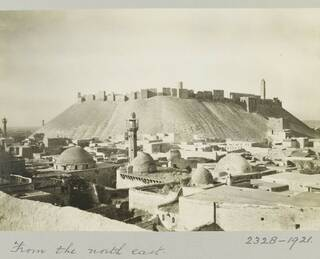 Four Cities through Creswell's Lens: Cairo, Jerusalem, Aleppo and Baghdad photo