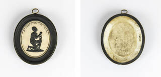 Front and back of the anti-slavery medallion