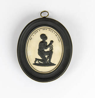 Front of the anti-slavery medallion