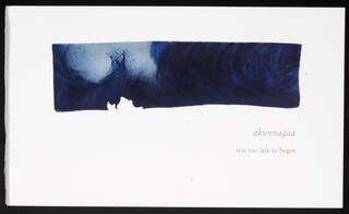 How to Say 'I love you' in Greenlandic, artist's book, by Nancy Campbell