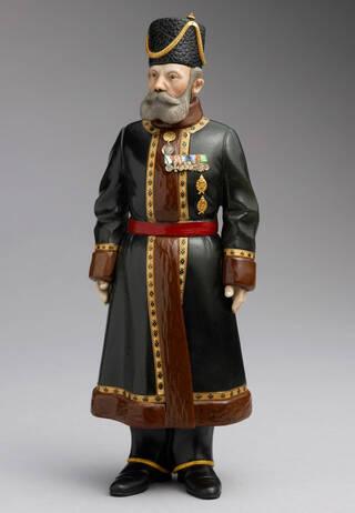 Figure of a Cossack man